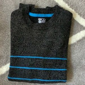 Men's Small Billabong Gray/Aqua sweater excellent